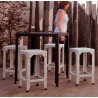 Hegoa Galvanised Steel Stool   30 Colours   3 Heights