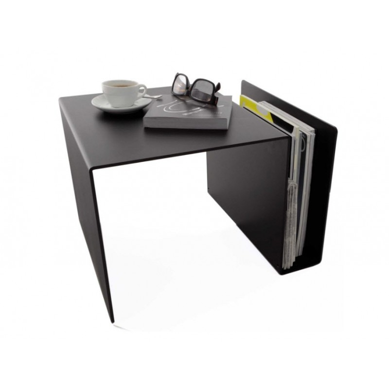 Huk Multi-Purpose Side Table / Magazine Rack / Desk Storage Unit from Müller Möbelwerkstätten