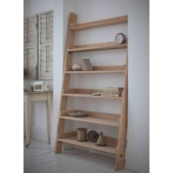 Hambledon Raw Oak Wide Ladder Shelf