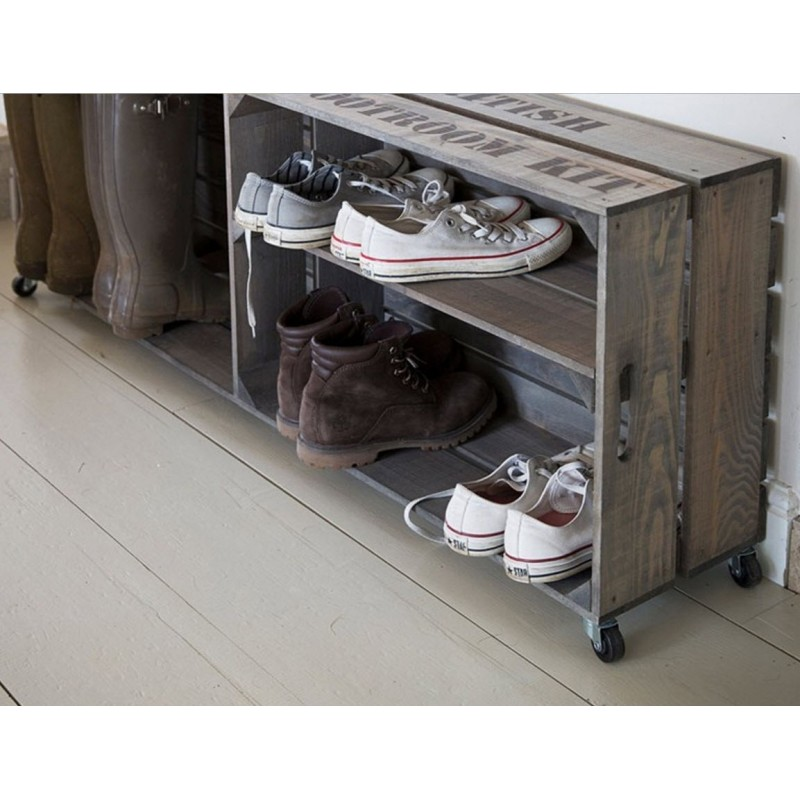 Colworth Wooden Welly Crate