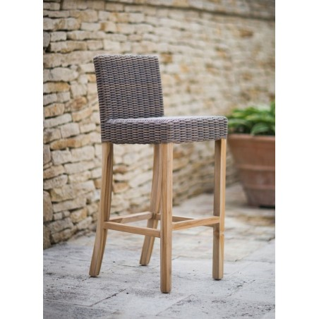 Lymington Outdoor Rattan Bar Stool