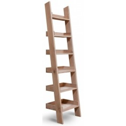 Hambledon Raw Oak Narrow Ladder Shelf