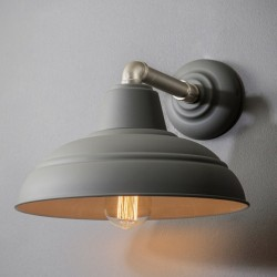 Southwark Wall Lamp in Charcoal