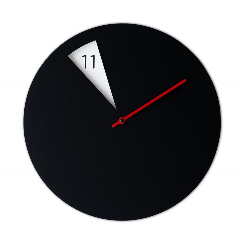 Freakish Clock - Black
