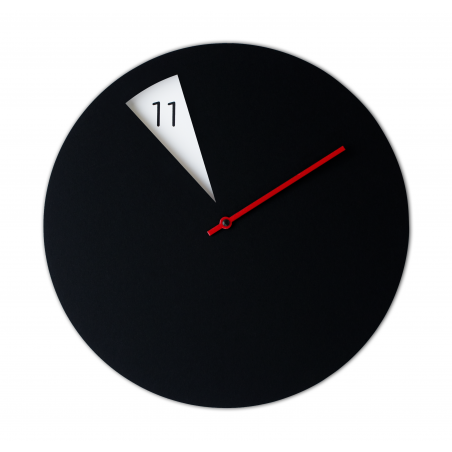 Freakish Clock - Black