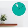 Freakish Wall Clock by Sabrina Fossi Design - Green