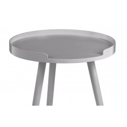 Varde Grey Scandanavian Style Side Table