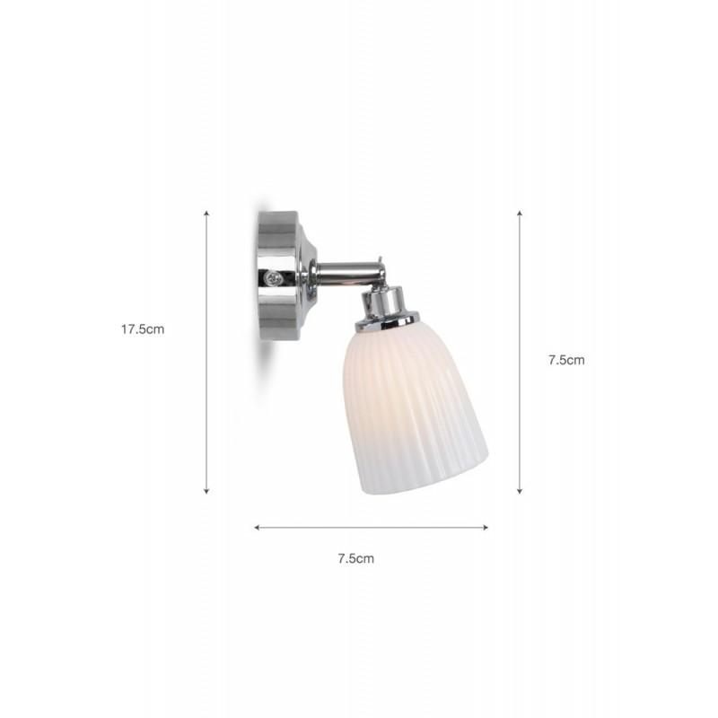 Garden Trading Alma Ceramic Bathroom Spotlight