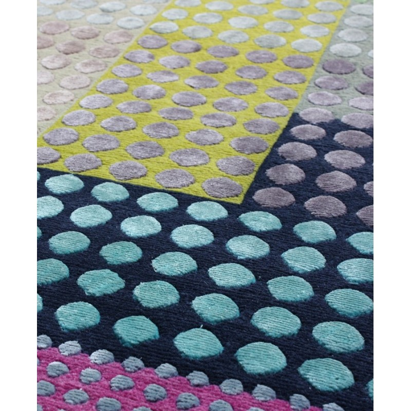 Bohemian Silk and Wool Rug by Margo Selby | Designer Rugs UK