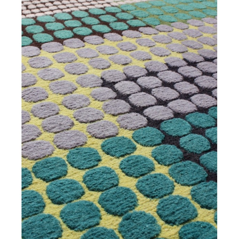 Marine Silk And Wool Rug By Margo Selby Designer Rugs Uk