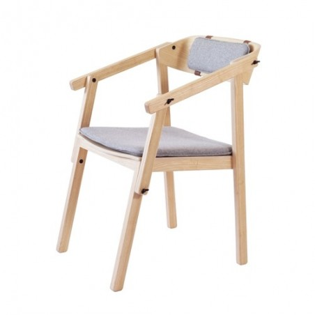 Ubikubi Atelier Arm Chair |Ash |Oak