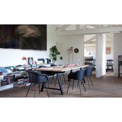 Vincent Sheppard Albert Dining Table Black A Frame Natural Oak 200 x 100