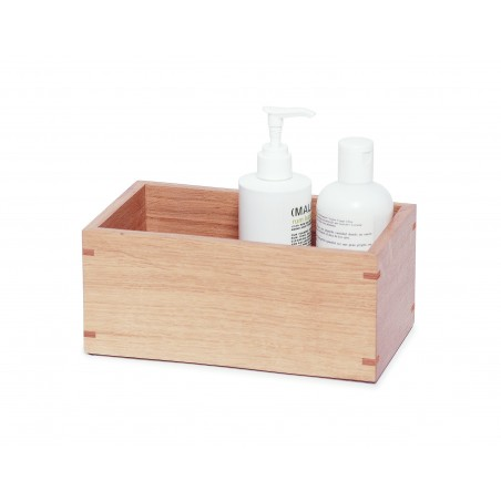 Wireworks Contemporary Oak Storage Box Mezza