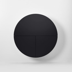 Multifunctional Pill Cabinet Black By Emko