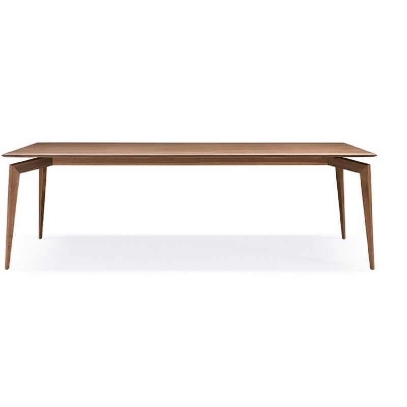Pacini e Cappellini Hope Dining Rectangular Table|Wooden Top