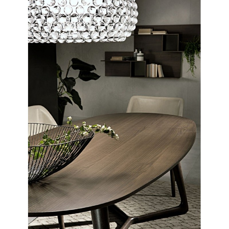 Pacini e Cappellini Cover Oval Dining Table - 220 CM x 100 CM