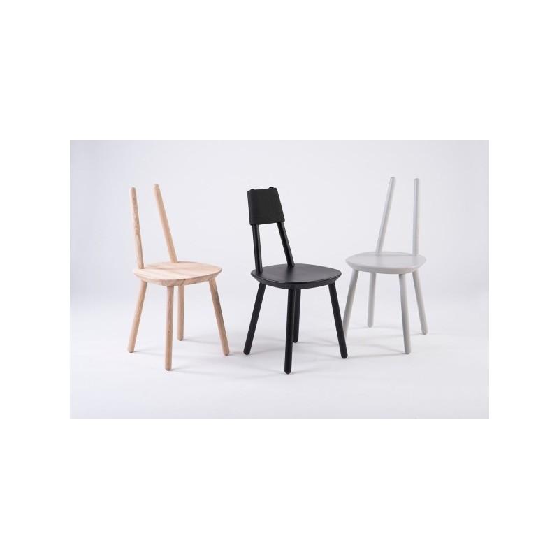 EMKO Naïve Wooden Chair -Black