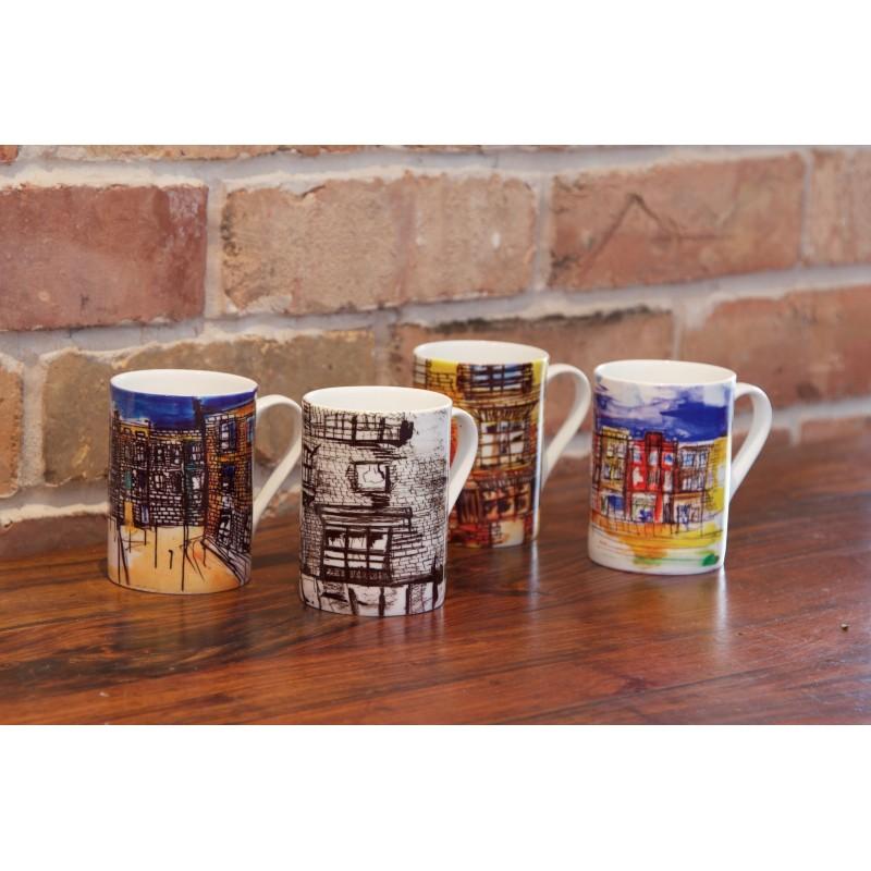 Art Mug Commercial Street by Natasha Jade
