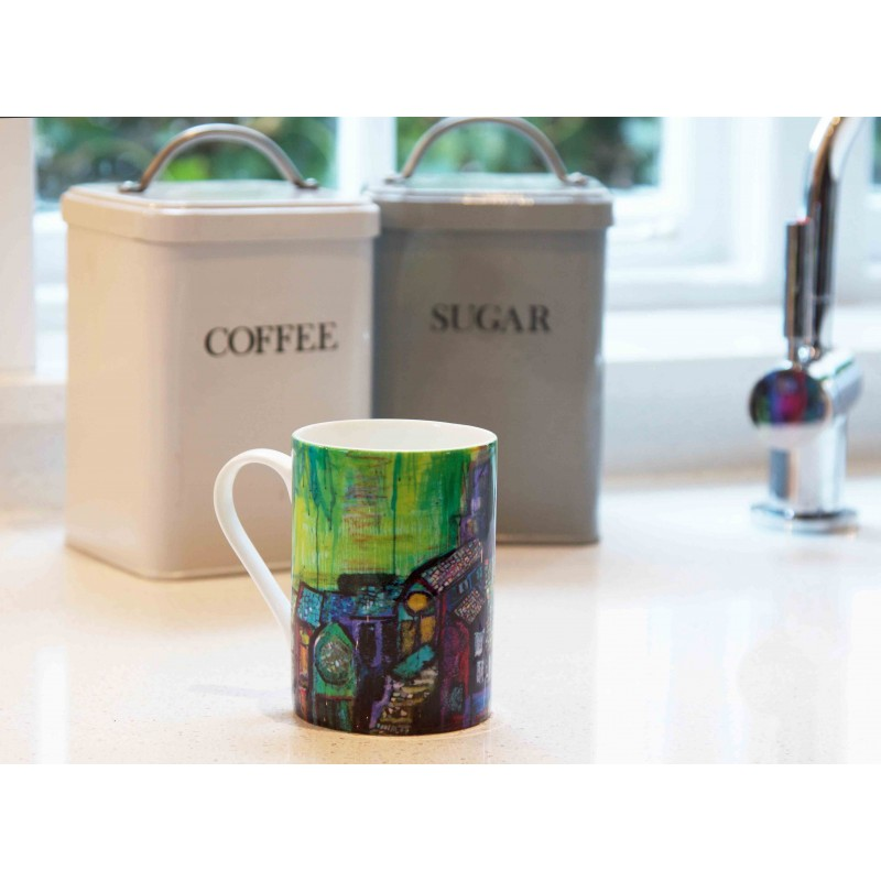 Art Mug Tuscany Green by Natasha Jade