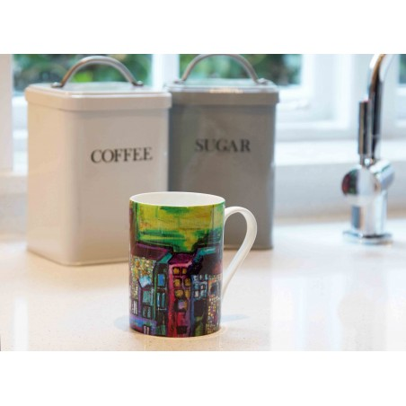 Art Mug Tuscany Green by Natasha Jade