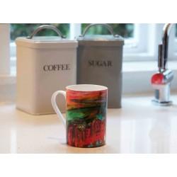 Art Mug Tuscany Pink by Natasha Jade