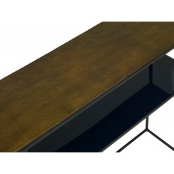 Content by Terence Conran FERA console Table with shelf.