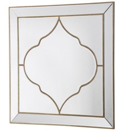 Casbah Mirror in Bronze Finish