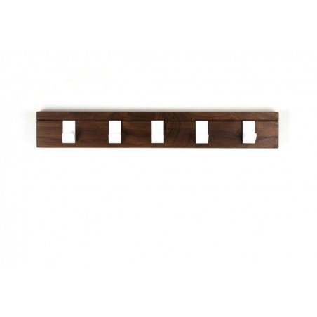 45 Walnut Coat Rail by John Green Designs