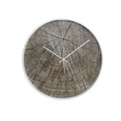 Cloudnola Structure Wood Wall Clock