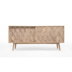Wewood Scarpa Modern Solid Oak Sideboard