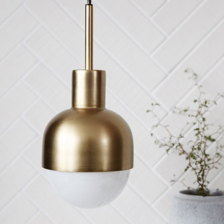 House Doctor Glow Brass Pendant Lamp
