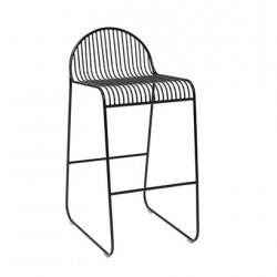 Bloomingville Friend Bar Chair in Black Metal