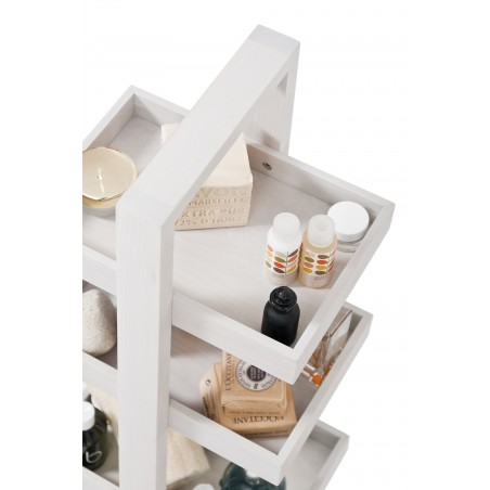 Wireworks Oyster Finish Caddy Quattro Trays Storage