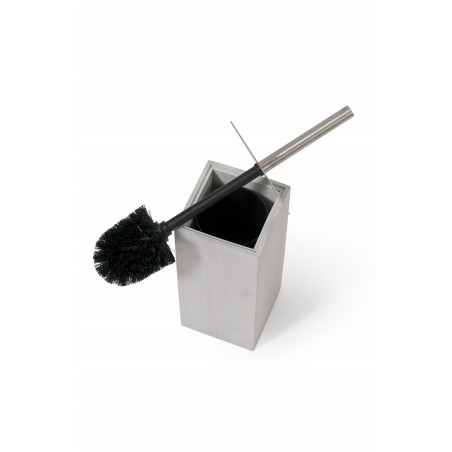 Wireworks Contemporary Oyster Finish Toilet Brush Mezza