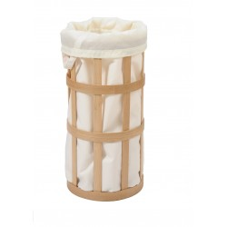Wireworks Laundry Basket Cage Soft White