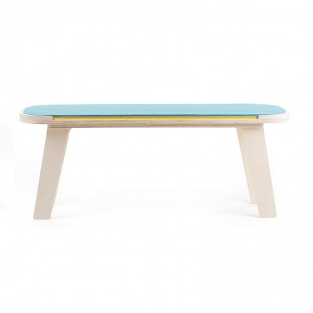 rform Slim Touch Plywood Oiled Bench