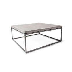 Lyon Beton Concrete Perspective Coffee Table Concrete Coffee Table