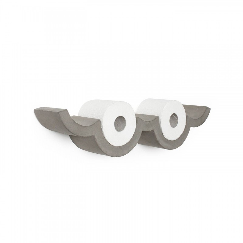 Lyon Beton Concrete Cloud - Toilet Paper Shelf