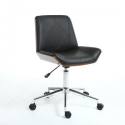 Onegin Walnut / Black Office Chair