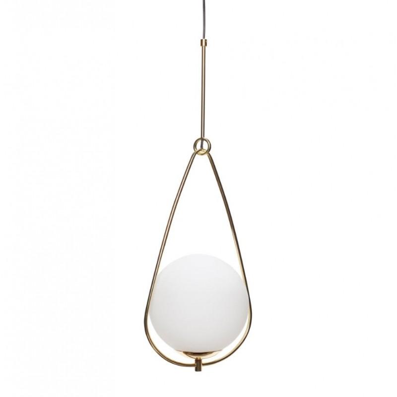 Hubsch Hoyer Copper Hanging Lamp