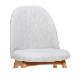 Hubsch Light Grey Accent Chair