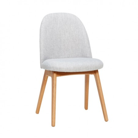 Hubsch Light Grey Accent Chair