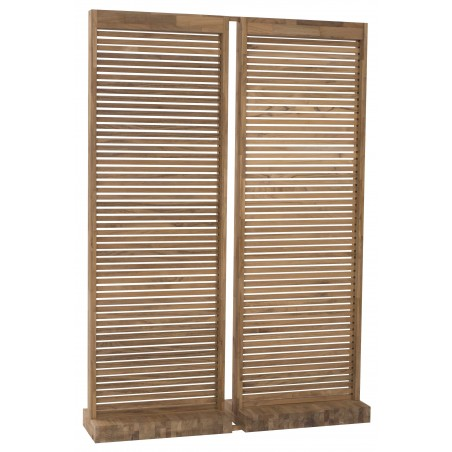 Solitude Teak Outdoor Screen