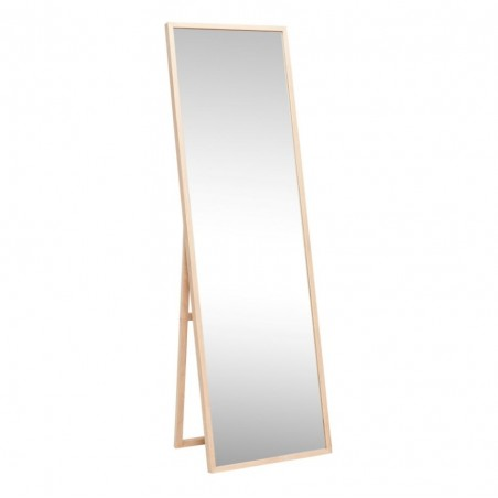 Hubsch Natural Oak Floor Mirror