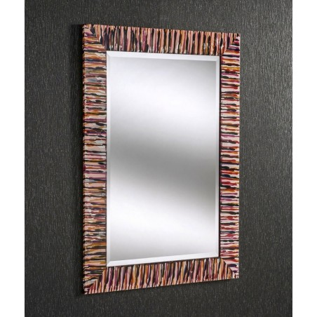 Kline Rectangular Hand-Painted Wall Mirror - 4 Sizes