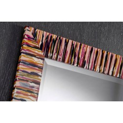 Kline Rectangular Hand-Painted Wall Mirror - 4 Sizes