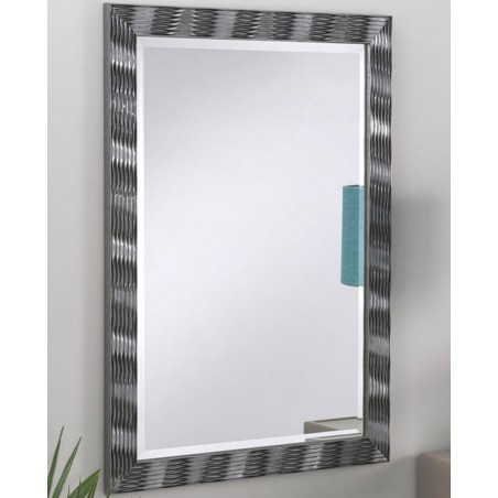 Karadi Grey Rectangular Wall Mirror - 4 Sizes