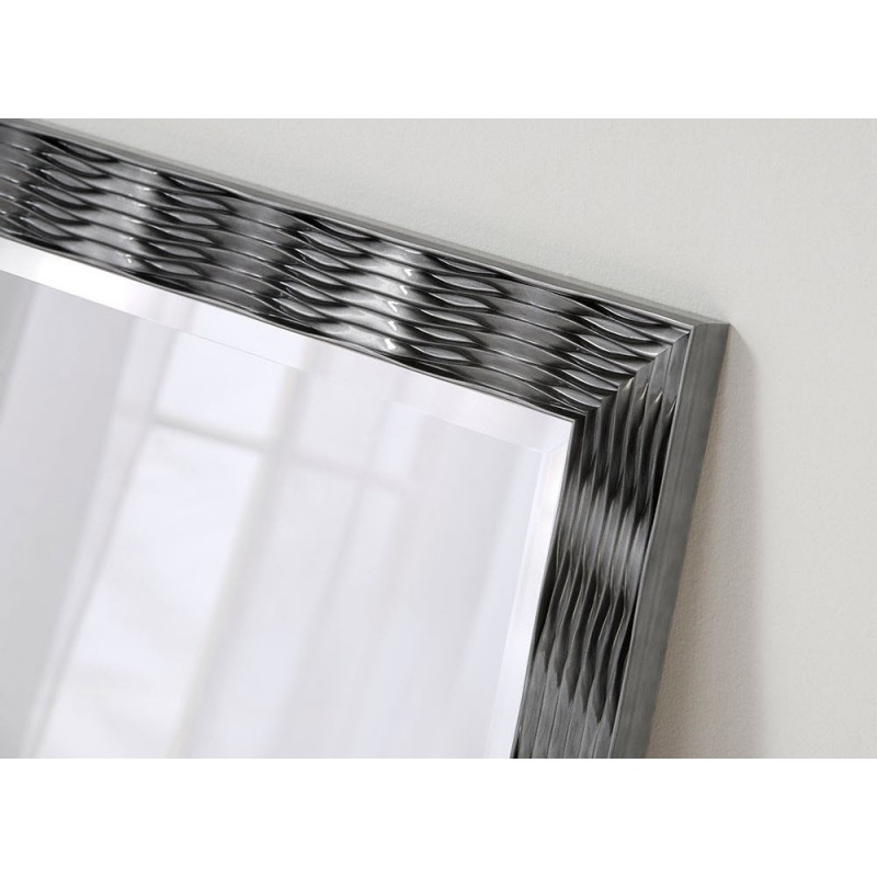 Karadi Grey Rectangular Wall Mirror - 4 Sizes