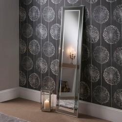 Lalique Leaner Grey Floor Mirror