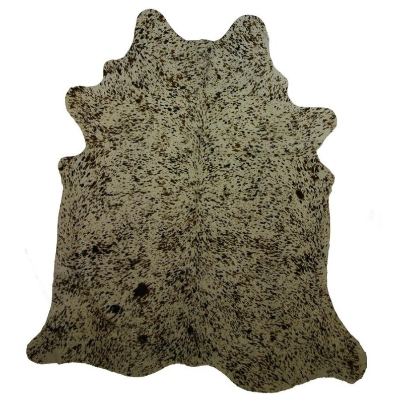 Tri-Speckled Extra Large Cowhide Rug